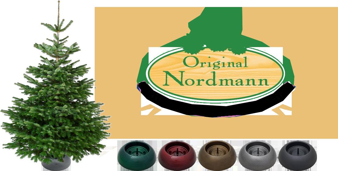 Certified Original Nordmann kerstbomen en EasyFix standaards